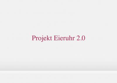 Projekt Eieruhr 2.0